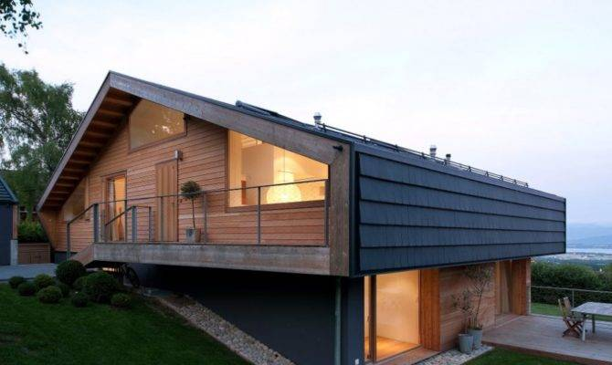 Modern Minimalist Swiss Chalet Most Beautiful Houses