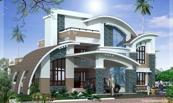 Modern Mix Luxury Home Design Kerala House Idea