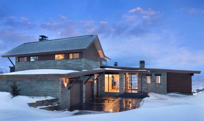 Modern Mountain Living Transparency Light