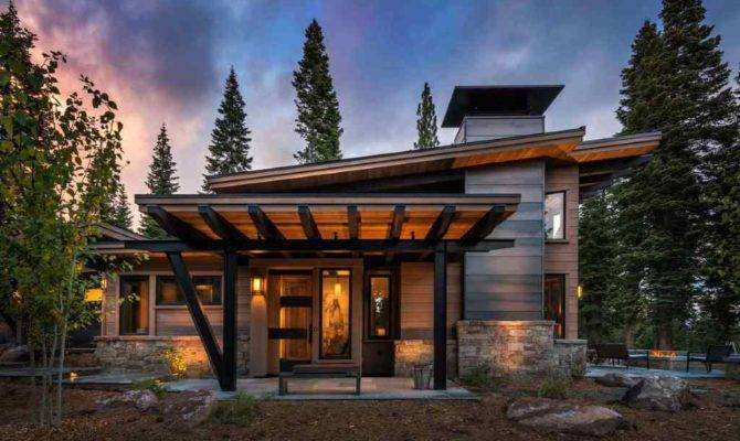 Modern Mountain Retreat Ideal Place Unwind House