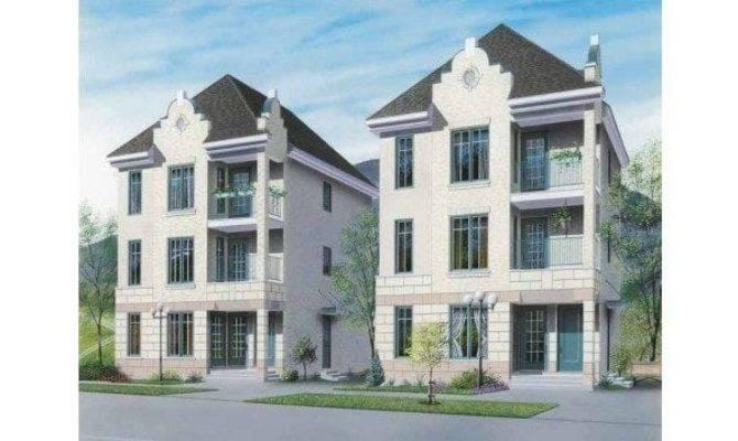 Modern Multi House Plans Lovely Three Level