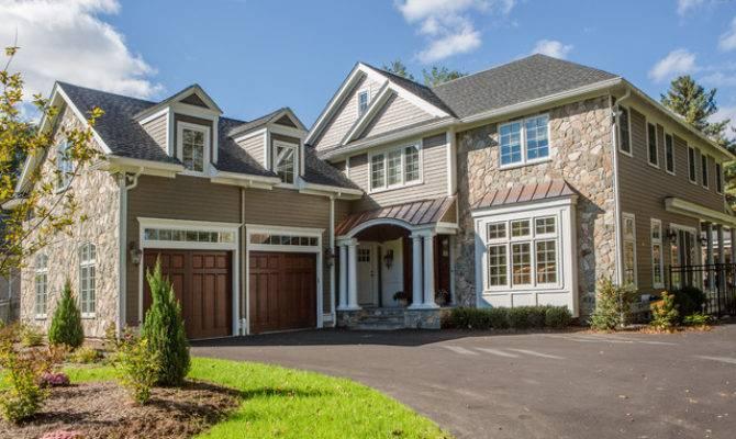 Modern New England Home Traditional Exterior