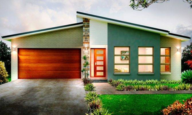 Modern One Storey House Design Homes Floor Plans