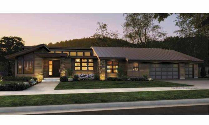 Modern One Story Contemporary House Plans