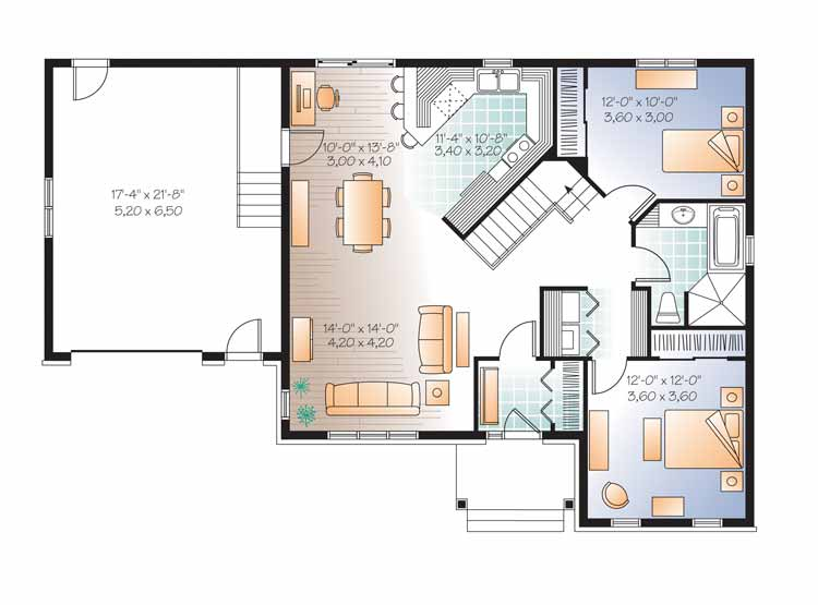 22 Modern Open Floor Plan Images To Consider When You Lack Of Ideas House Plans