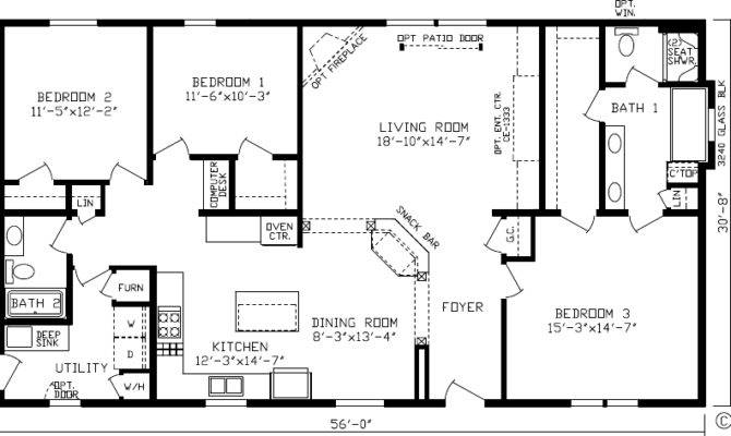 Modern Open Floor House Plans Quotes