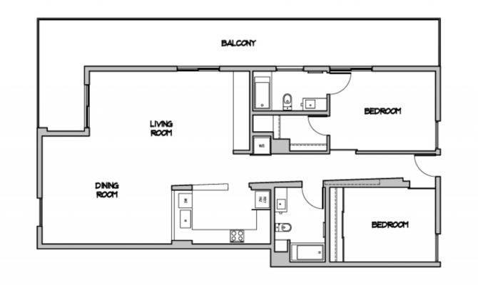 Modern Open Floor Plans Contemporary Plan