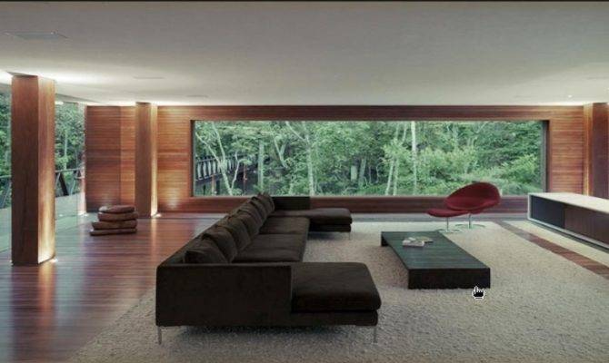 Modern Open Plan Interior Designs House
