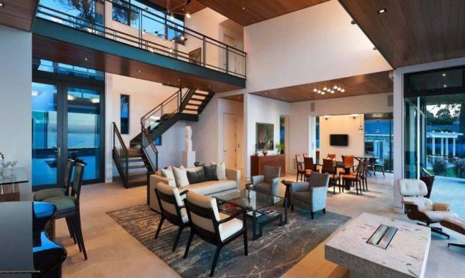 Modern Open Plan Interior Designs Living Room
