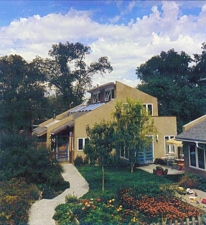 Modern Passive Solar House Plans Design - House Plans ...