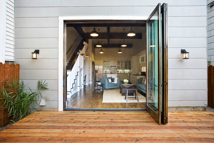 Modern Patio Doors Contemporary Deck Sutro Architects House