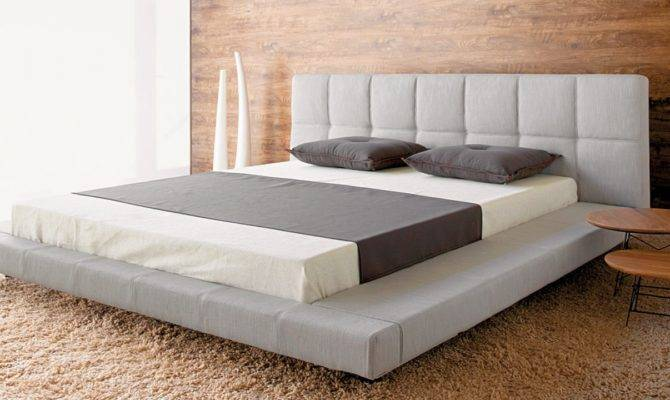 Modern Platform Bed Frame Design King Beds