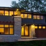 Modern Prairie Style House Plans Lighting