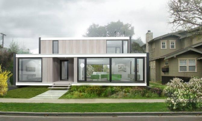Modern Prefab Home Design Plans Modular