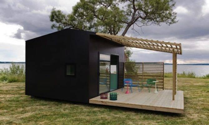 Modern Prefab Micro Housing Concept Mini House