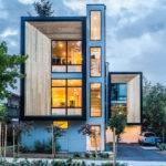 Modern Prefab Townhomes West Seattle Design Milk