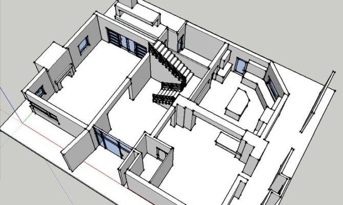 Modern Pritchett House Floor Plan