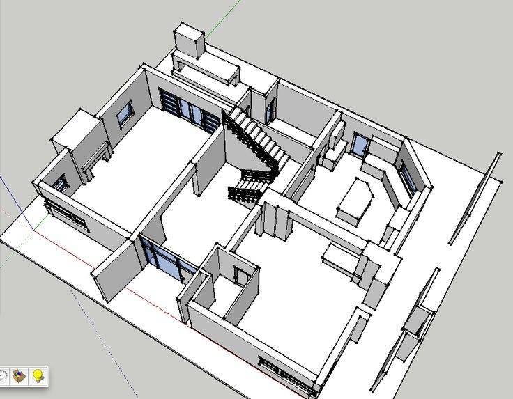 Modern Pritchett House Floor Plan - House Plans | #121255