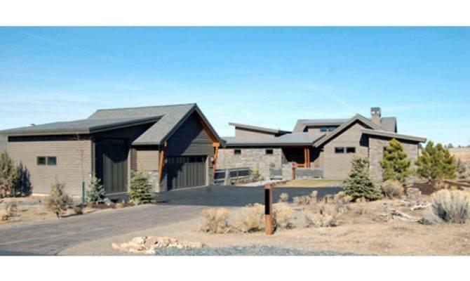 Modern Ranch Single Story Home Hwbdo Builderhouseplans