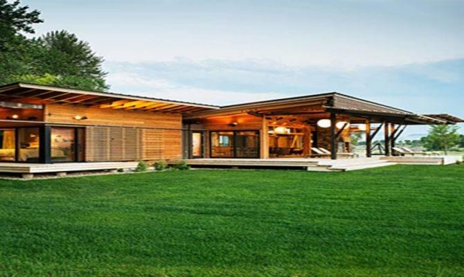 Modern Ranch Style House Designs California