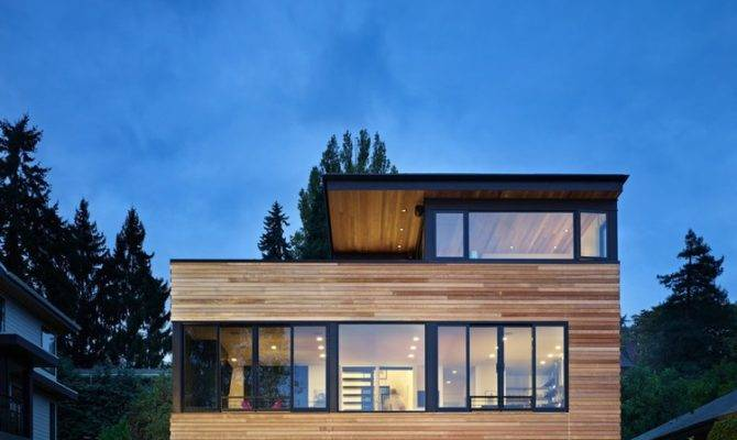 Modern Refuge Active Couple Cycle House Seattle