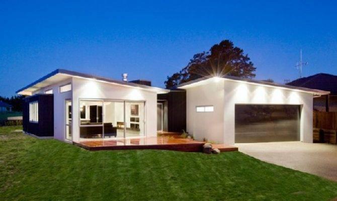 Modern Residence New Zealand Literally Opening