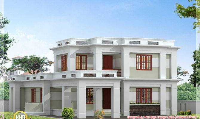Modern Roof Designs Styles Kerala Style House