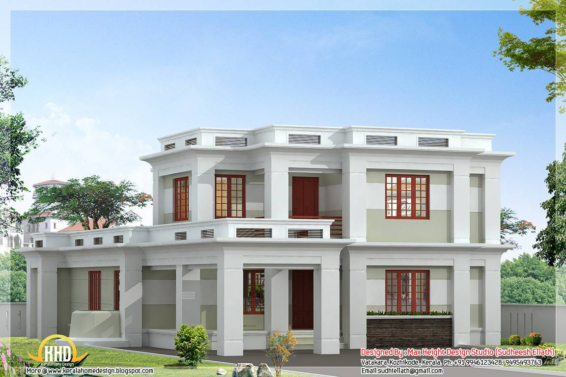 Modern Roof Designs Styles Kerala Style House House Plans 87295