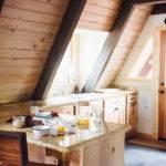 Modern Rustic Frame Cabin Front Main