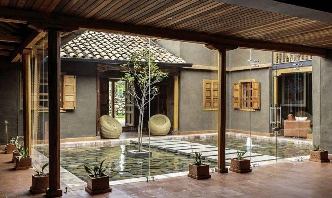 Modern Rustic Loma House Ecuador Andr Quizhpe