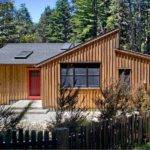 Modern Rustic Redwoods Cottage Cabin Cathy Schwabe