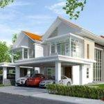 Modern Semi Detached House Plans