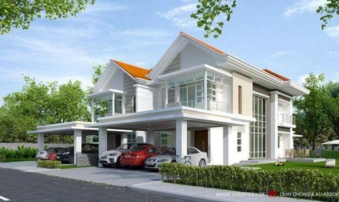 Modern Semi Detached House Plans