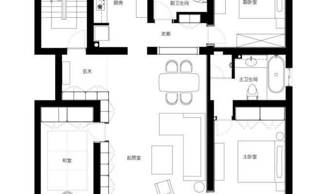 Modern Shanghai House Floor Plan Interior Design Ideas