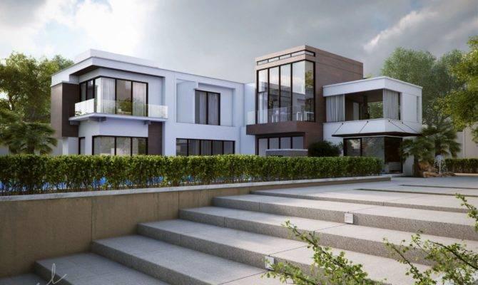 Modern Shaped Houses