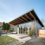 Modern Shed Roof House Designs Homens Design Cabin Water