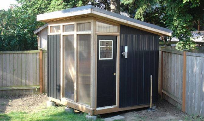 Modern Shed Seattle Almost Done House Fig