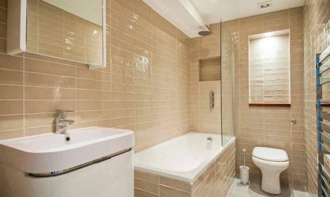 Modern Shower Bath Rectangle Floor Tile Bathrooms