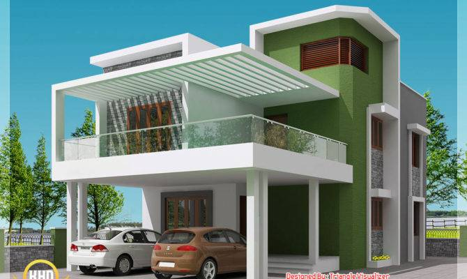 Modern Simple Indian House Design Home Appliance