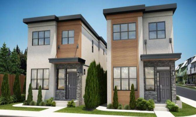 Modern Skinny House Plans Arts Tall Mpelectricltda Home