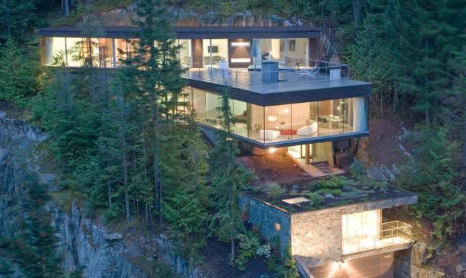 Modern Slope House Design Beautiful Homes Blog