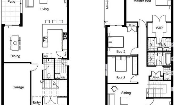 Modern Small Two Story House Plans Inspirational Best