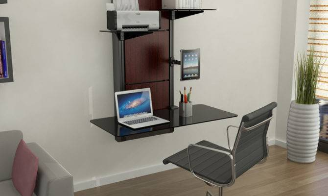 Modern Space Saving Wall Desk Tiny Homes House