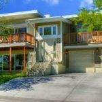 Modern Split Level House Designs Attached Garage
