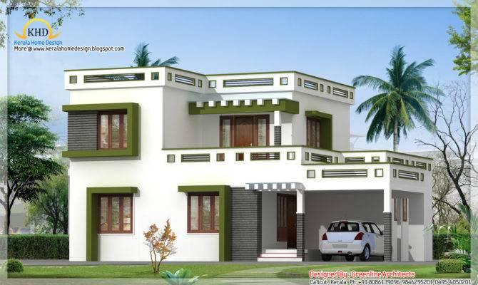 Modern Square House Design Kerala Home