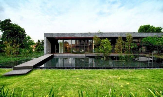 Modern Stone House Huge Central Courtyard Farm