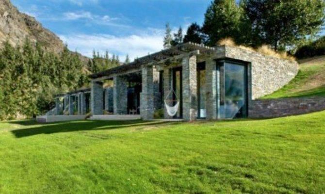 Modern Stone House Kohara Lodge Murray Cockburn
