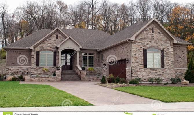 Modern Stone House Photography
