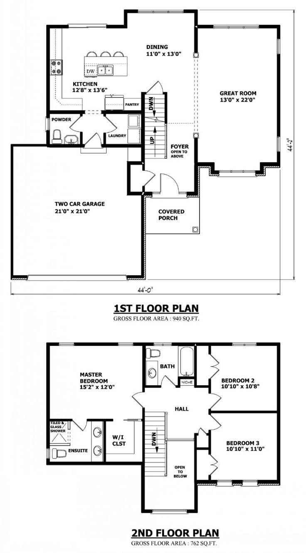 Modern Storey House Plans Homes Floor House Plans 121084