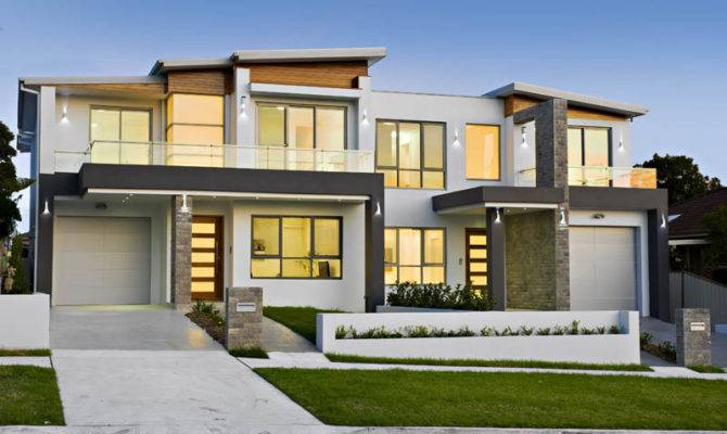 Modern Style Duplex Plans Joy Studio Design